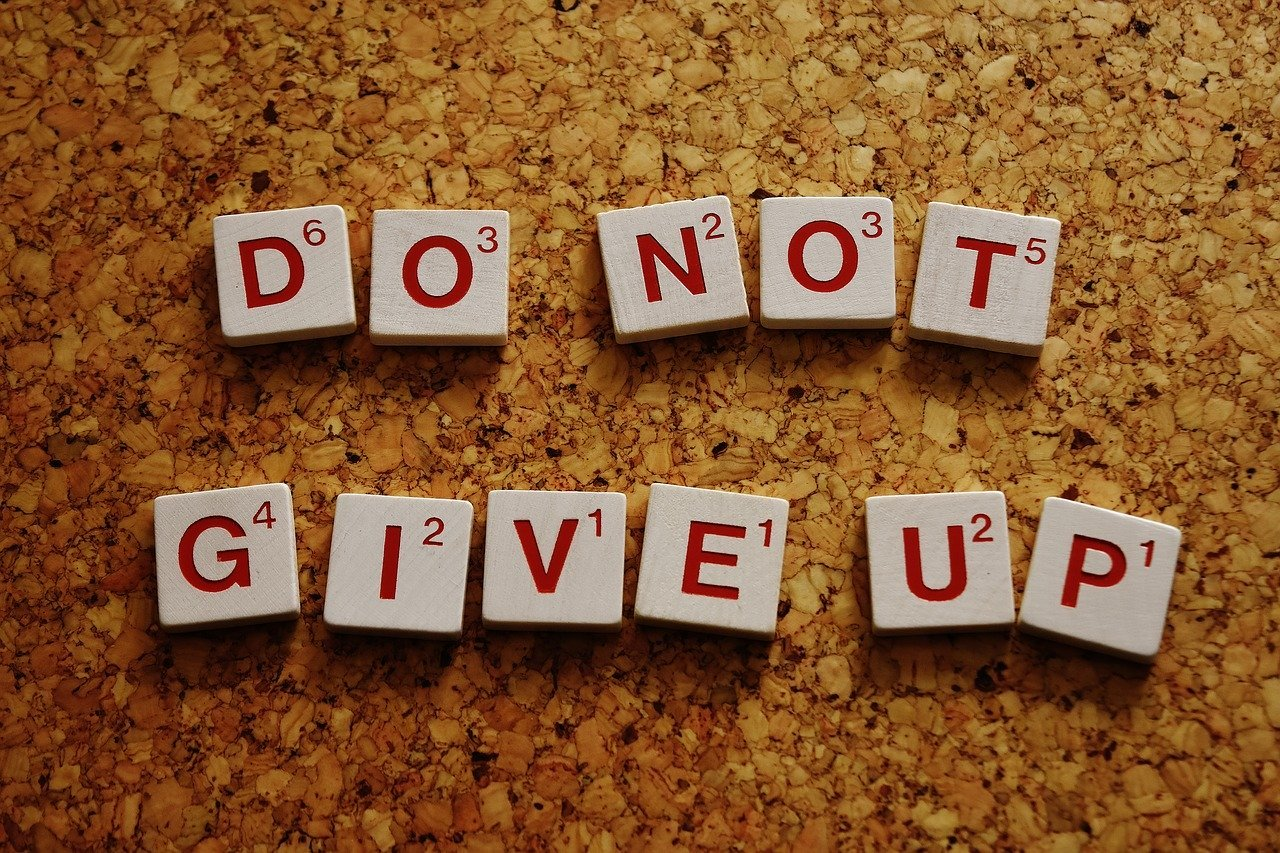 Stop Giving Up Start Letting Go